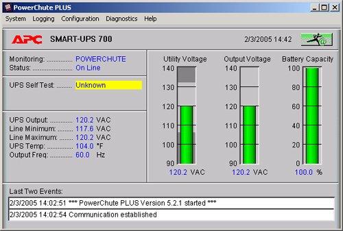 APC AP9004 software di utilità