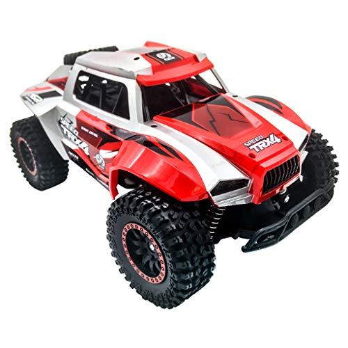 bloatboy High Speed   Offroad RC Autos Elektrisches Ferngesteuertes Spielzeugs, 1:12 Fernbedienung 2WD RC Trucks 20 km/h High-Speed Big-Foot Geländewagen (Rot)