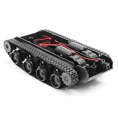 Bluelover 3V-7V Diy Licht Schock Absorbiert Smart Tank Robot Chassis Car Kit Mit 130 Motor Für Arduino Scm