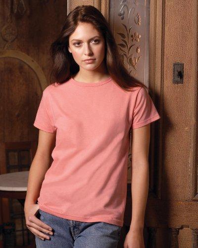 Jerzees Ladies' 5.6 oz., 50/50 Heavyweight Blend T-Shirt Navy