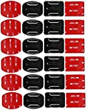 SHOOT 12 pcs Mounts and 12pcs 3 M Adhesive Stickers Mount for GoPro 5 4 3+ 3 2 SJ4000 SJ5000 Action Cameras