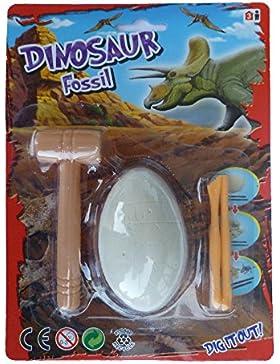 Dinosaurier Ei Fossil zum ausgraben / entdecken auf den Spuren der Dinos