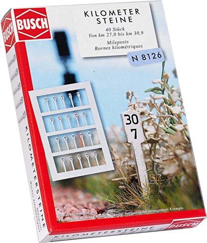 Busch Environnement - BUE8126 - Modélisme - Bornes Kilométriques