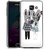 Samsung Galaxy A3 (2016) Housse Étui Protection Coque Lapins Rêve Imagination
