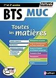 Toutes les matières BTS MUC (Management et gestion des unités commerciales) 1re et 2è années