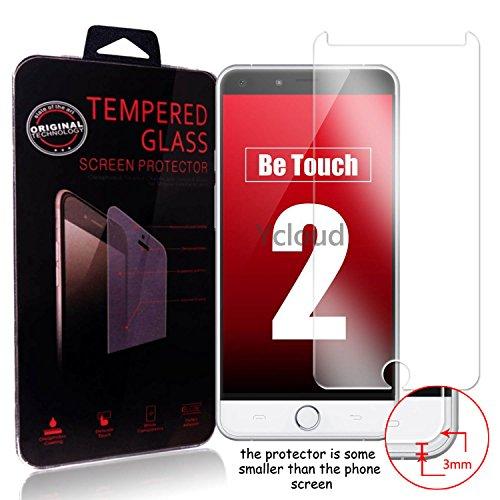 Ycloud Panzerglas Folie Schutzfolie Bildschirmschutzfolie für Ulefone Be Touch 2 / Be Touch 3 screen protector mit Härtegrad 9H, 0,26mm Ultra-Dünn, Abger&ete Kanten