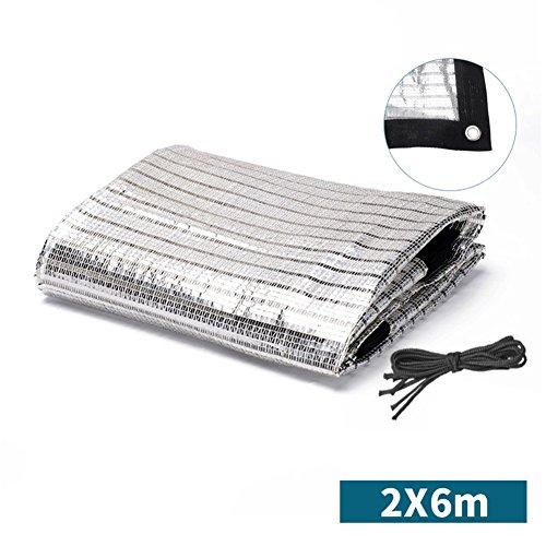 SSDM Silberne Weiße Reflektierende Aluminiumfolie-Schatten-Nettoisolierung Silbernes Schattennetz...
