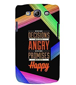 PRINTSWAG QUOTE Designer Back Cover Case for SAMSUNG GALAXAY S3