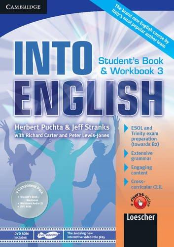 Into english. Student's book-Workbook. Per le Scuole superiori. Con CD Audio. Con DVD-ROM. Con espansione online: 3