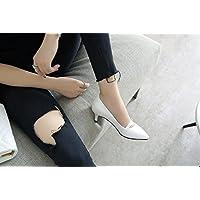 BBSLT-En Été Exposés Chaussures Brodées Colombo Avec L'Aide Du Papillon Haut-Bottes Fermeture Éclair Latérale La Nation Et L'Uganda Women'S Shoes White 38 J8f6cG