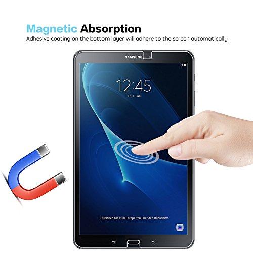 Samsung Galaxy Tab A 10.1 Panzerglas Displayschutzfolie, Nearpow Schutzfolie 9H Härte, Anti-Kratzen, Anti-Öl, Anti-Bläschen, Anti-Fingerabdruck - 4
