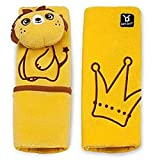 #8: Baby Bucket TM Baby seat belt strap cover,Child Pushchair Stroller Car Seat Belt Strap Cover Pad Cushion Shoulder pad (Yellow)