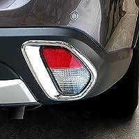 Cubierta trasera de la luz antiniebla del coche ABS cromo 2pcs/set