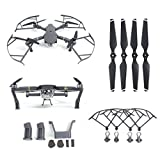 Malloom For DJI Mavic Pro,Heightened Landing Gear+Protector Guard+Props Propellers Blade