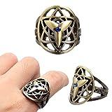 #3: High Quality Imported Sasuke's Mangekyou Sharingan Ring