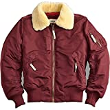 Alpha Industries - Injector III Fliegerjacke (L, Burgundy)