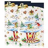 Goldmännchen-Tee Adventskalender mit 24 Türchen & Teebeuteln 50g (2er Pack)