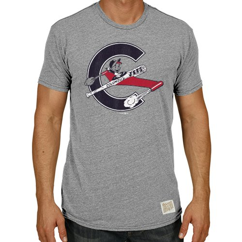 Minor League Baseball Herren T-Shirt, Herren, RB120-STG-MCJE001A, grau, xxl