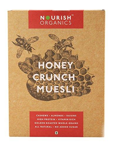 Nourish Organics Honey Crunch Muesli, 300g