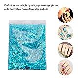 Glitzer, Walmeck Glitzerpulver DIY Festival Glitter Party Kosmetische Gesicht Chunky Body Carnival Decor ultradünne Nagel Pailletten - 6