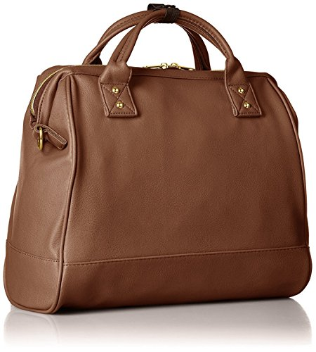 Anello PU Leather 2-Way Boston Bag BR