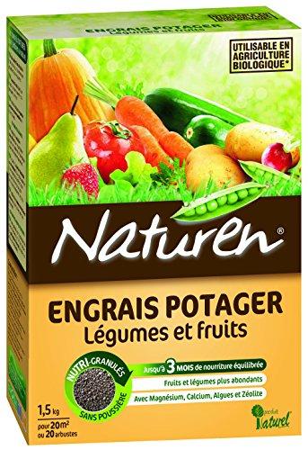 Naturen 8390 Engrais Potager 1,5 kg