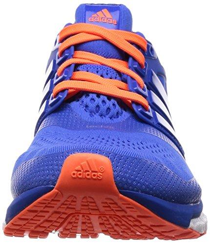 adidas Energy Boost Esm, Scarpe da Corsa Uomo Blu (Blau (Blue/Blue/Solar Orange))