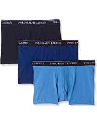 Polo Ralph Lauren Men's 3 Pack Trunks Short - Blue - Medium