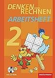 Denken und Rechnen - Ausgabe 2011 für Grundschulen in Hamburg, Bremen, Hessen, Niedersachsen, Nordrhein-Westfalen, Rheinland-Pfalz, Saarland und Schleswig-Holstein: Arbeitsheft 2 mit CD-ROM