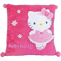 Hello Kitty–711392–Einrichtung und Dekoration–Kissen quadratisch–Ballerina preisvergleich bei kinderzimmerdekopreise.eu