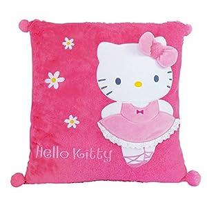 Hello Kitty–711392–Einrichtung und Dekoration–Kissen quadratisch–Ballerina