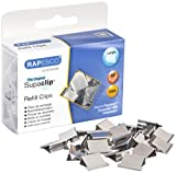 Rapesco Supaclip #60 Refill Clips - Stainless Steel [Pack of 100]