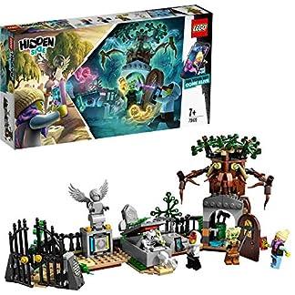 LEGO – Hidden Side Misterio del Cementerio Juguete de construcción con realidad aumentada, incluye lápidas interactivas y cuatro minifiguras, Novedad 2019 (70420)