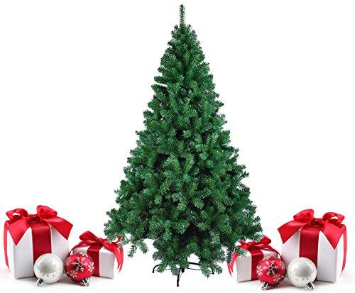 Fashion Commerce FC240 Albero di Natale Artificiale, Verde, 240 x 80 x 240 cm