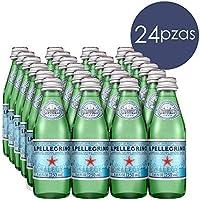 S. Pellegrino 24X250Ml Vidrio Agua Mineral Natural Con Gas