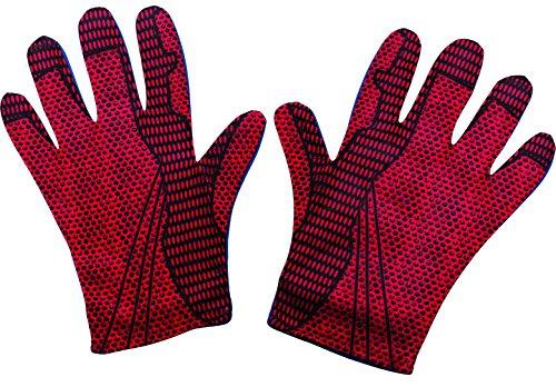 an 2 Erwachsener Kostüm Gloves (The Amazing Spider Man Kostüm)