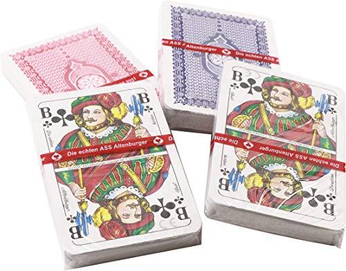 RMB® 4er Set Skat-Karten-Spiele Doppelkopf-Karten