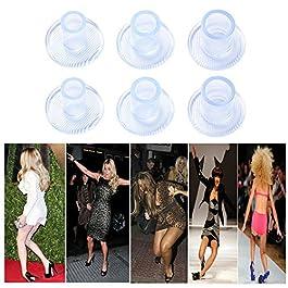 18 Paia Protezione Tallone Proteggi Tacchi con Sacchettini per Donna Protezione Tacchi Alti Scarpe (Taglie S-9mm / M…