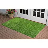Home Sajja Artificial Soft & Durable Green Grass For Balcony, Lawn & Door 40 X 60 Cm