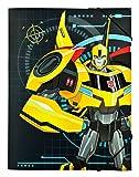 Undercover tfuv0300–Cartellina con elastico, formato A4, Transformers