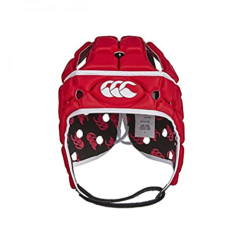 Canterbury Z013033-438 Casque de rugby Rouge Taille L