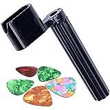 Color al azar, Plástico Guitarra Cuerdas Winder para la mayoría de guitarras acústicas y eléctricas con 5libre púas