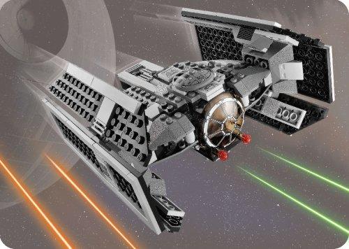 Imagen 2 de LEGO Star Wars 8017 - Juego de construcción de caza estelar TIE de Darth Vader