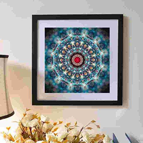 Sunshay Mandala Art et la Voie Peinture avec le Motif Numéro 30 * 30 cm Couleurs Assorties