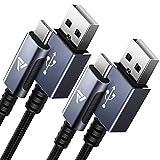 VICTSING Câble USB Type C en Nylon Tressé Supporte Charge Rapide pour Samsung S9 S8...