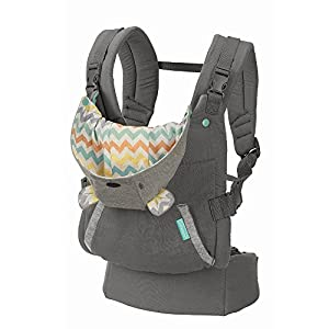 51KvwkymZvL. SS300  - Infantino Cuddle Up Ergonomic Hoodie - Carrier