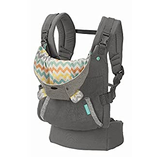 51KvwkymZvL. SS324  - Infantino Cuddle Up Ergonomic Hoodie - Carrier