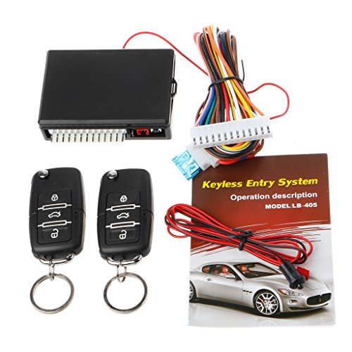 Wireless-keyless-entry-system (Guangtian Universal Auto Fernbedienung Zentralverriegelung Kit Türschloss Locking Keyless Entry System Alarmanlage Sicherheit)