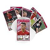 FC Bayern München Quartett Team FCB + gratis Aufkleber Forever München - Spielkarten/Kartenspiel / Karten/Deck / cubierta/pont / Playing Cards
