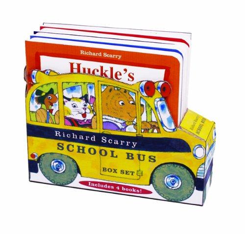 Richard Scarry School Bus Box Set por Richard Scarry